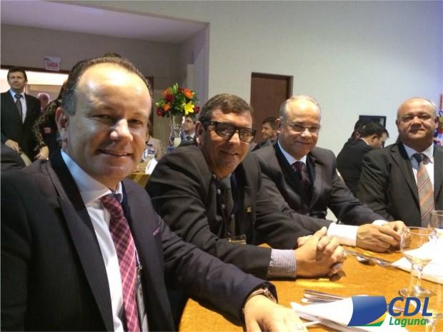 CDL de Laguna participa do XVI Encontro Catarinense de Líderes Lojistas