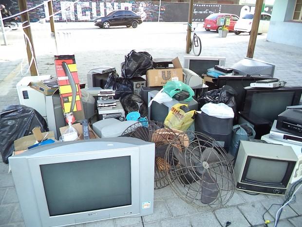 Sábado Legal de Julho obteve êxito no recolhimento do lixo eletrônico
