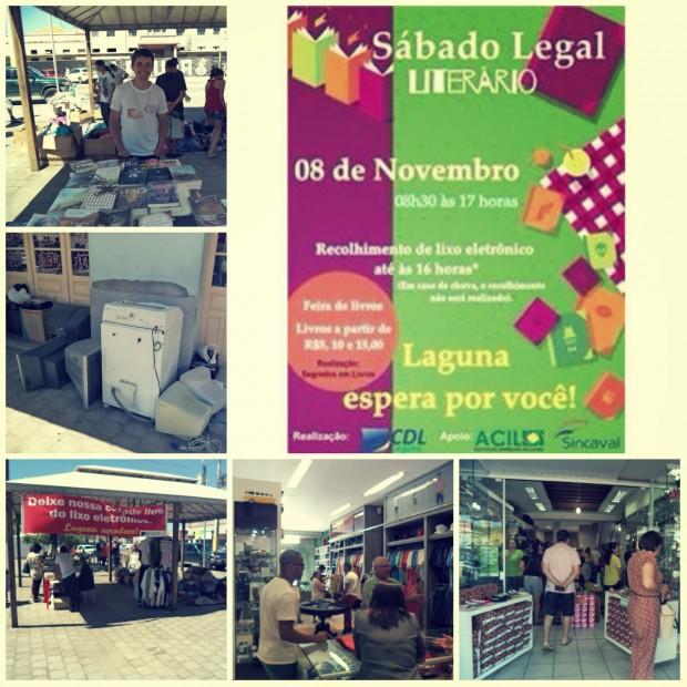 Sábado Legal Literário é realizado em Laguna