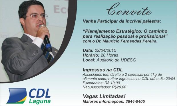 Palestra Dr. Maurício Fernandes Pereira – 22/04/2015