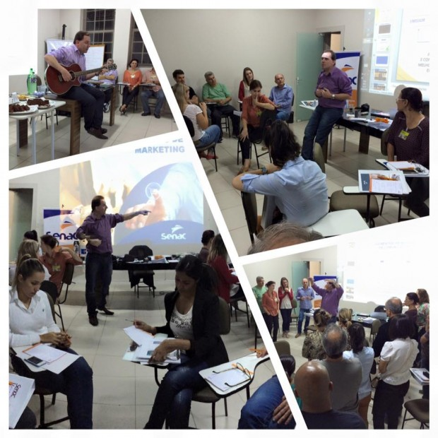 4° Módulo do curso em parceria com o SENAC é realizado