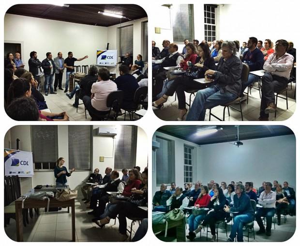 Reunião sobre as obras do Centro é realizada no auditório da CDL.