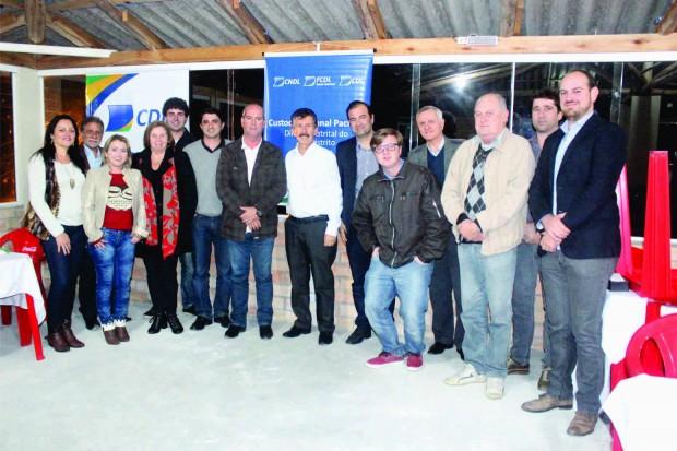CDL de Laguna participa da reunião distrital em Pescaria Brava realizada em Setembro