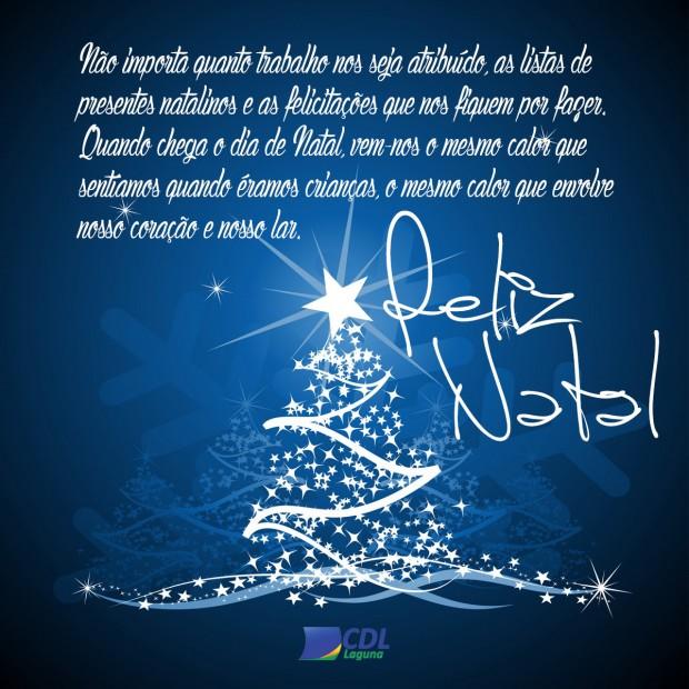 A CDL de Laguna deseja um ótimo Natal!!!