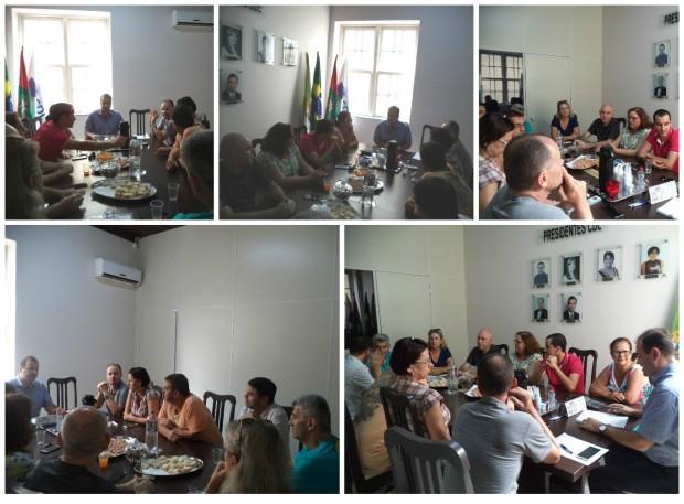 Diretoria da CDL reúne-se para debater estratégias para 2016