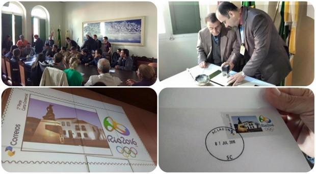 Reunião é realizada na Prefeitura de Laguna