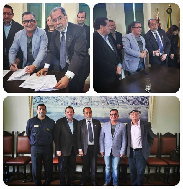 CODESP e Prefeitura Municipal de Laguna firmam parceria