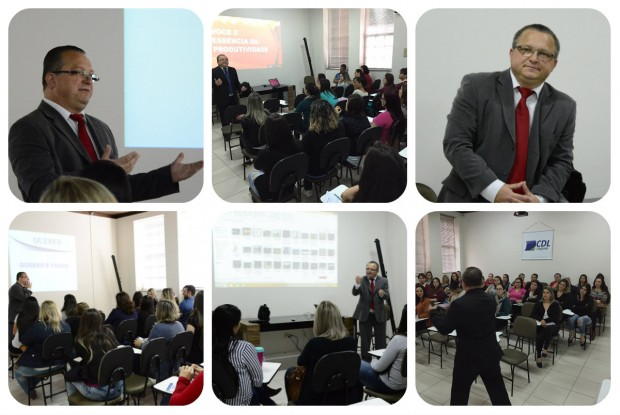 CDL promove cursos em parceria com o palestrante José Sabino