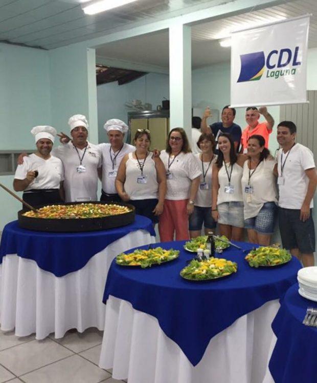 CDL de Laguna realiza 1ª Paella em Homenagem ao Dia Internacional da Mulher