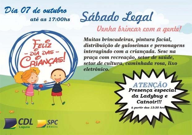Sábado Legal – Dia das crianças