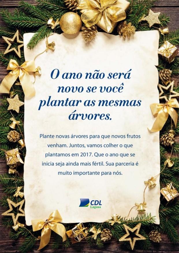 A CDL deseja a todos um Feliz Ano Novo!