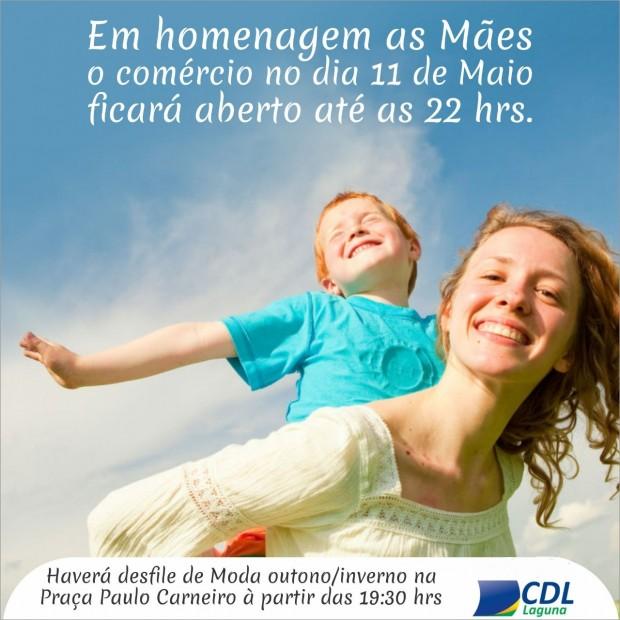 Horário Especial Homenagem as Mães