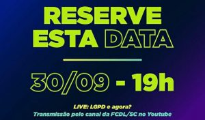 LIVE: LGPD