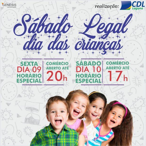 Sábado Legal Dia das Crianças