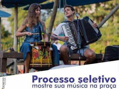 Mostre sua musica na praça