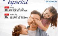 Sábado com horário especial